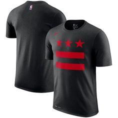 buy popular a4399 098e7 Men s Washington Wizards Nike Black City Edition Performance Cotton  Essential T-Shirt