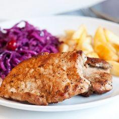 Flavorous pork chop (recipe in Russian)