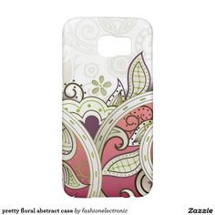 pretty floral abstract case