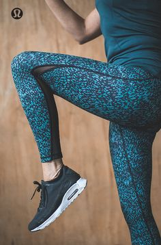 Your training, your time. [Featuring: Train Times Pant in Illuminate print]