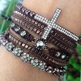 This website sells awesome stacked bracelets!