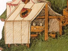 A Commonplace Book: Rectangular Tents in Swiss Illuminations: 1478-1513