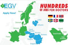 EGV Recruiting is a contingency physician recruiting firm specializing in personalized and efficient physician recruitment services. Medical Careers, Lithuania, Saudi Arabia, Hungary, Romania, Denmark, Norway, Sweden, Germany