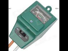 3-in-1 Gardening Soil Measuring Instrument Moisture Meter PH Meter - YouTube