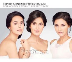 The gorgeous women of Bollywood - Katrina Kaif and Lisa Ray - recently shot for a skin care brand's print commercial. The resplendent beauties for the first time came together for range of skin care products by L'Oreal.