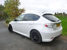 2008 Subaru Impreza 2.5 WRX 5-door hatchback. White. FSH. Click on pic shown for loads more.