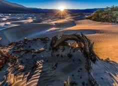 Death Valley Dunes by PatKofahl #Landscapes