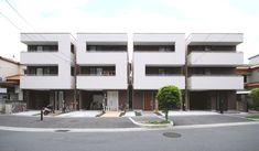 Built by Matsunami Mitsutomo in Ibaraki-shi, Japan with date 2007. Images by Matsunami Mitsutomo. This is a mass-produced type ready-built house often developed on a large scale, and as such, has the advantage of pr...