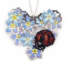 Hanukkah, Crochet Necklace, Wreaths, Jewellery, Decor, Decoration, Jewelery, Decorating, Crochet Collar