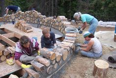 Eco Homes from the Earth: Cordwood