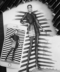 143 個讚好,7 則回應 - Instagram 上的 Fashion Designer(@aygul_safarli):「 #blackandwhiteonly #aygulsafarli #artist #couture #lovemyjob #fashioninsta #fashiondesigner… 」