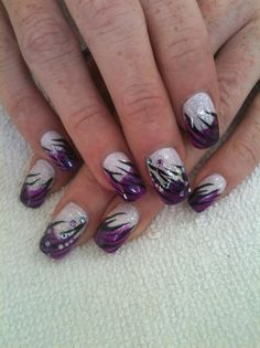 Purple Fever by nailtechtish - Nail Art Gallery nailartgallery.nailsmag.com by Nails Magazine www.nailsmag.com #nailart