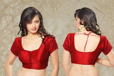 This is what I want to make for the new costumes.....Choli Sari Blouse Red Brocade 1882 Indian Lehnga Ghagra Skirt Belly Dance shieno