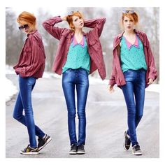 Jeans of my own design ❤ liked on Polyvore featuring ebba zingmark and pictures