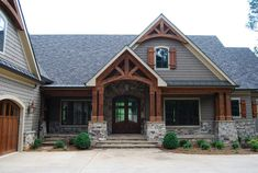 House front stone porches 42 New Ideas House front stone porches 42 New Ideas Dream House Exterior, Exterior House Colors, Exterior Design, Stone Exterior Houses, Exterior Siding, Craftsman Exterior Colors, Mountain Home Exterior, Exterior Color Schemes, Rustic Exterior