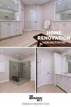 Harlington Rd. bathroom renovation is a stunner 🤩 #renovationspot . . . . . #discoveratl #atlantahomebuilder #atlantahomerenovations #homerenovations #interiorrenovation #supportlocal #homeinspo #renovations #exteriorrenovation #atlantahomes Bathroom Renovations, Home Renovation, Atlanta Homes, Garage Doors, Kitchen Cabinets, Outdoor Decor, Home Decor, Decoration Home, Room Decor