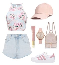 """Read Below ⬇️"" by akr13 ❤ liked on Polyvore featuring Topshop, adidas Originals, AERIN and Vivani"