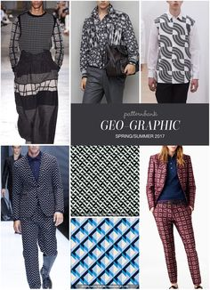 GEO-GRAPHIC » Wooyoungmi / Bottega Veneta / Comme de Garçons Shirt / Emporio Armani / Optical Groove 3 by Michele Tozzi / Kazan Geo by Michael Pfuetze / Bally
