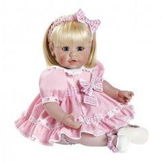 "Adora Sweet Parfait Vinyl 20"" Doll Blonde Hair Blue Eyes"