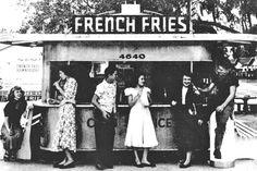 A Florida diner, 1951