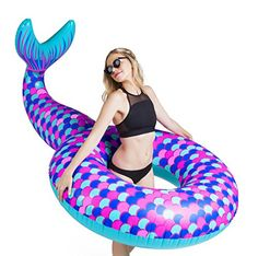 BigMouth Inc Giant Mermaid Tail Pool Float
