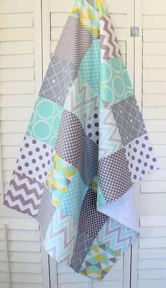 Baby Blanket Unisex Baby Blanket Gender Neutral by theredpistachio