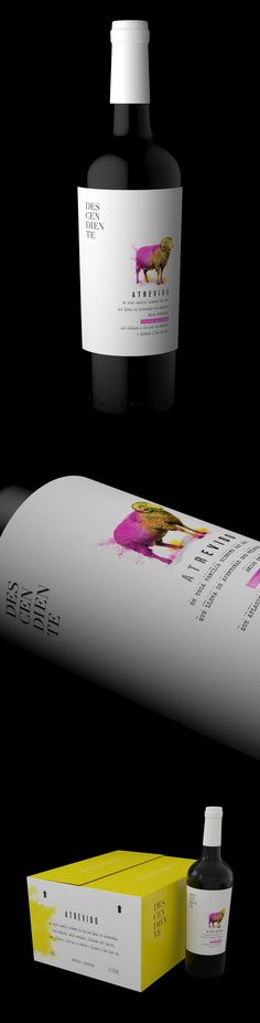 DESCENDIENTE ATREVIDO Terracota Wineland on Behance
