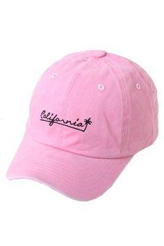 860d3c0b9b8 California Pink Hat Girls Baseball Hats