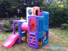little tikes play structure slides - Google Search