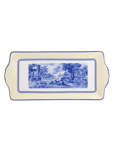 Giallo Porcelain Sandwich Tray