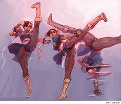 Chun-Li - Street Fighter - Joel Jurion