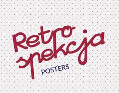 "Check out new work on my @Behance portfolio: ""RETRO/POSTERS 