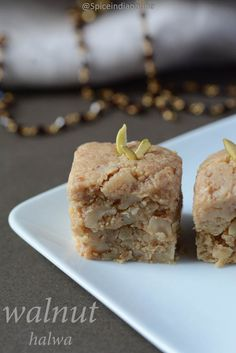 WALNUT HALWA RECIPE / AKHROT HALWA RECIPE / HOW TO MAKE WALNUT HALWA? / WALNUT FUDGE RECIPE / KHOYA RECIPES / KOVA / DIWALI SWEETS/ FESTIVE RECIPES / FESTIVE SWEETS / DESSERTS / INDIAN SWEETS / MITHAI RECIPES / NUTS HALWA RECIPE / அக்ரூட் ஹல்வா