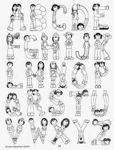Blogger: Tauler de Blogger Graffiti Lettering Fonts, Hand Lettering Alphabet, Alphabet Design, Lettering Styles, Alphabet For Kids, Alphabet And Numbers, Calligraphy Quotes Doodles, Fancy Letters, Lettering Tutorial