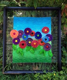 Dimensional Weaving - Martina Celerin 3D fiber art: Fourth Street on Labor Day weekend! (Mom would like this one)