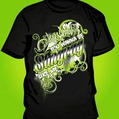 Stingrays, Cheer, Custom Design, Mens Tops, T Shirt, Fashion, Supreme T Shirt, Moda, Humor