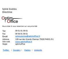 Créer une attache de signature professionnelle | Blog Optim Office