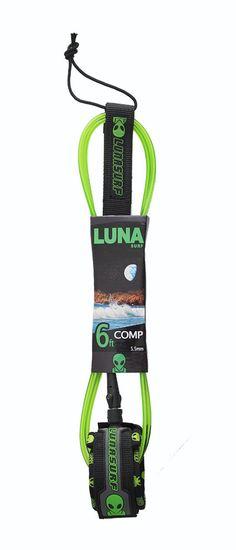Surfboard Leash - 6ft Comp Leash - Alien Skinny Surfboard Leash