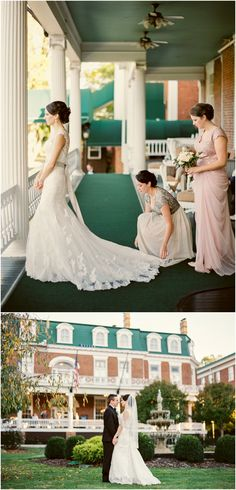 A lovely Martha Washington Inn wedding in Abingdon, Virginia. The Martha is a historic hotel and wedding venue. Wedding Ceremony, Wedding Day, Bride And Groom Pictures, Bhldn, Engagement Photography, Wedding Engagement, Wedding Photos, Marriage, Casamento