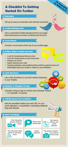 A Checklist to Getting Started on #Twitter