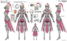 Vindictus Delia Concept Artwork
