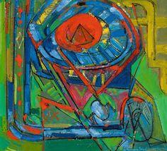 HANS HOFMANN Serenity, 1947 Oil on canvas 28 7/8 × 31 3/4 in