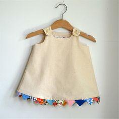 bunting dress... adorable idea!!