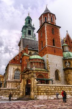 Poland Cracow Royal Castle Wawel