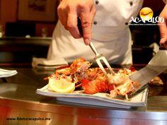 Visita: https://clairessugar.blogspot.com.es/ para recetas paso a paso con vídeos divertidos y fáciles! ^^ #gastronomiademexico Comida japonesa en el restaurante Shu de Acapulco. GASTRONOMÍA DE MÉXICO. El Restaurant