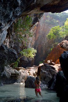 Phra Nang Beach Cave, Krabi, Thailand (by Darrell Nieberding).