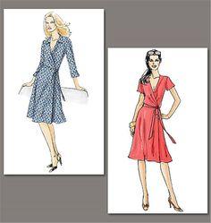 Vogue 8379 : patron de robe
