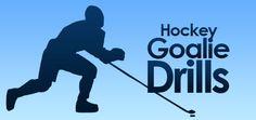Field Hockey Goalie Drills (I wish I had some of these when I was the field hockey goalie!)