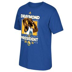 Golden State Warriors adidas Draymond Green For President 2016 Tee - Royal