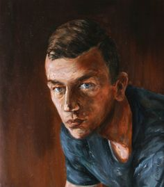 Marek Herrmann portrait Pinxit Cyprian Nocoń Nocon